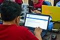 WikiLatih 1.0 (Wikipedia writing training session for beginner) for Minangkabau Wikipedia, Jakarta; August 2017 (03).jpg
