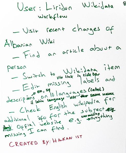 File:WikidataCon 2017 Workshop Workflows 08.jpg