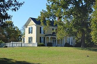 Wildwood (Semora, North Carolina) - Front of the house