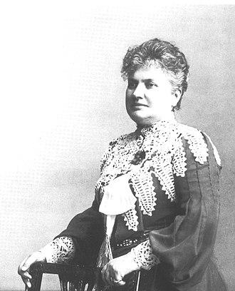 Wilhelmina Skogh - Photo from around 1902