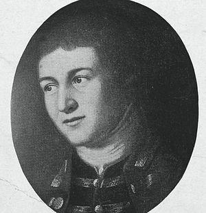 William Barton (heraldist) - William Barton, from a Charles Willson Peale painting