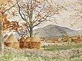 William Bruce Ellis Ranken Landscape with haystacks.jpg