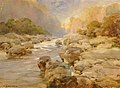 William Henry Holmes - Unmodified Rock Creek, about 1910 - 1930.12.9 - Smithsonian American Art Museum.jpg