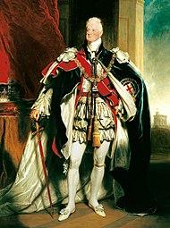 Wilhelm IV. im Krönungsornat (Gemälde von Martin Archer Shee, 1830) (Quelle: Wikimedia)