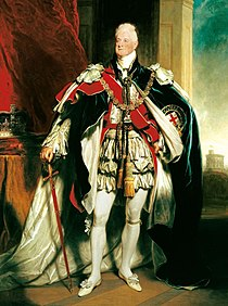 William IV King of the United Kingdom of Great Britain and Ireland and of Hanover from 1830 to 1837