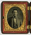 William Kingrey, 1864. One of a pair of cased 9th-plate tintypes (8486618839).jpg