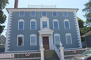 William Whipple - The Moffatt-Ladd House, home of William Whipple, in Portsmouth, New Hampshire