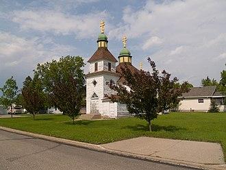 Wilton, North Dakota - Ukrainian Orthodox church in Wilton, North Dakota