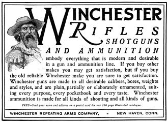 Winchester Repeating Arms Company - Winchester Rifles ad, 1900