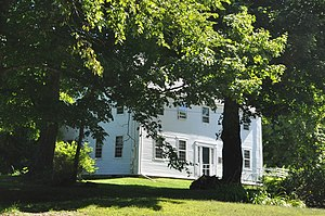 Parson Smith House - Image: Windham ME Parson Smith House
