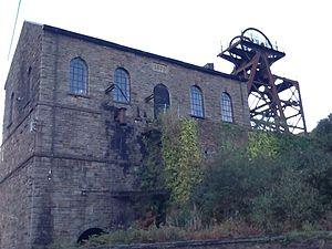 Great Western Mine - Headframe at Hetty Shaft