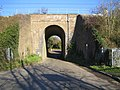 Winkwell, Pouchen End Lane railway bridge - geograph.org.uk - 614724.jpg