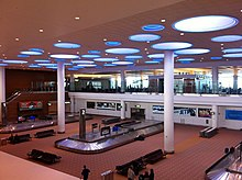 Winnipeg International Airport arrivals hall.jpg