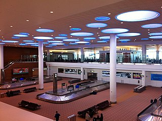international airport serving Winnipeg, Canada
