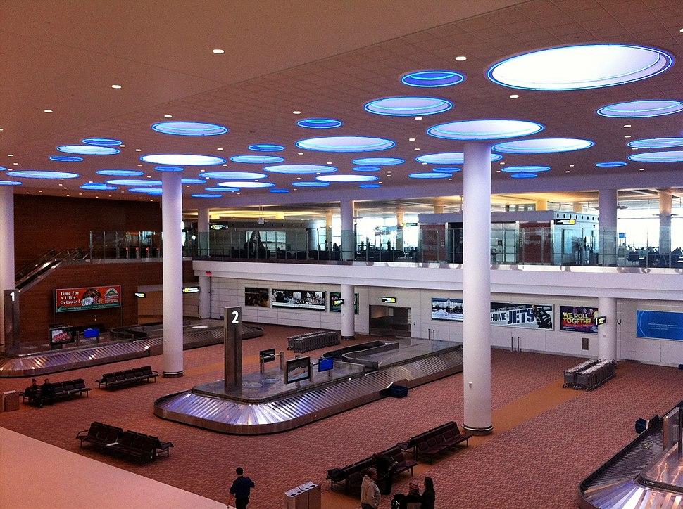 Winnipeg International Airport arrivals hall