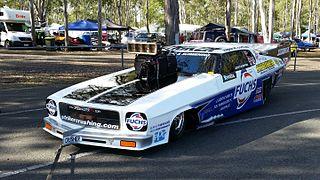 John Zappia Australian drag racer