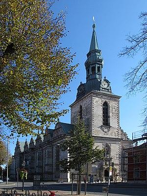 Marienkirche, Wolfenbüttel - Image: Wolfenbuettel BMV 01 nw