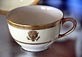 Woodrow Wilson administration teacup - original - Richard Nixon Presidential Library and Museum.jpg
