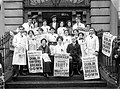 Workers on the steps of Liberty Hall.jpg