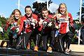 World Orienteering Championships - Mix stafet - Danish winning team.JPG