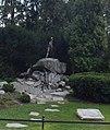 Wrocław - Polująca Diana w Parku Szczytnickim na Skwerze Zbyszka Cybulskiego.jpg
