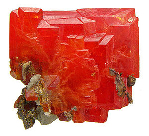 La Paz County, Arizona - Classic wulfenite specimen from the old Red Cloud Mine, western La Paz County