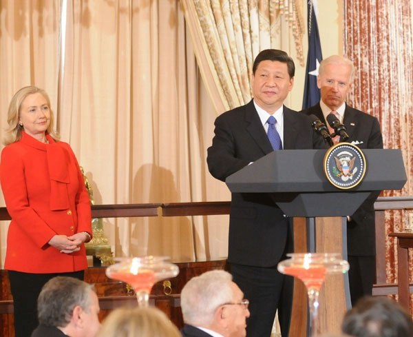 Xi Jinping in USA