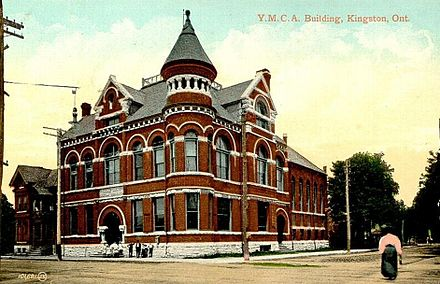 Postcard of the Y.M.C.A. Building in Kingston, Ontario, Canada c. 1908 Y.M.C.A. Building, Kingston, Ontario.jpg