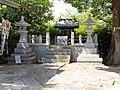 Yakata Akiba-Jinja shrine haiden, Sakae-cho Toyoake 2018.jpg