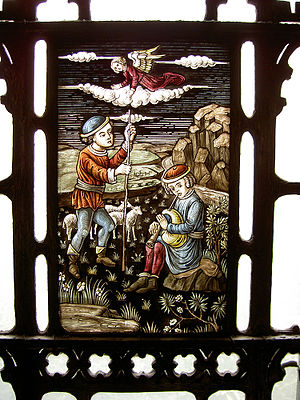 G. Owen Bonawit - Image: Yale library stained glass