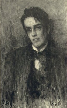 Painting of W.B. Yeats
