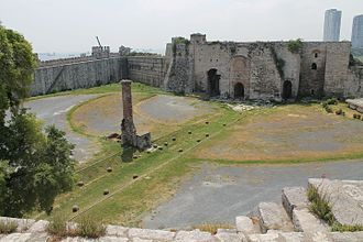 Yedikule Fortress - Ruins in the inner courtyard of the structure