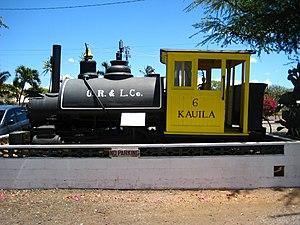 Hawaiian Railway Society - O. R. & L. Co. No. 6, an 0-4-2T
