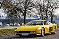 Yellow Ferrari Testarossa in Nancy, France 2013 - 02.jpg