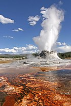 Yellowstone Castle Geysir Edit