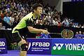 Yonex IFB 2013 - Quarterfinal - Liu Xiaolong - Qiu Zihan vs Mathias Boe - Carsten Mogensen 08.jpg