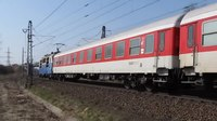 File:ZSSK Class 350 + contact-less track recording car of SŽDC.webm