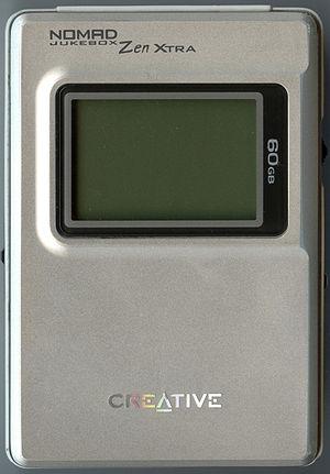 Creative Zen - NOMAD Jukebox Zen Xtra