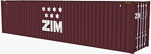 Zim Integrated Shipping Services - Image: Zim container