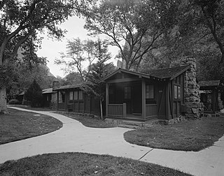 Zion Lodge Historic District United States historic place