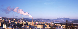 Zlatoust - Panorama of Zlatoust ca. 2011
