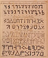 """Egyptian"" and Hebrew alphabets in The Magus.jpeg"