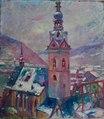 """Kirchturm St.Martin Cochem"" Hans Kruzwicki.tiff"
