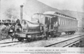 """""""The Weka"""", first locomotive built in New Zealand, 1876, built by James Davidson for the Hurunui-Bluff section of the South Island lines ATLIB 336168.png"""