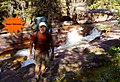 'Jimbo' McCarthy - at Reynolds Creek, July 24, 2007 by way of New Jersey and the 'hard' route from Lake McDonald - panoramio.jpg