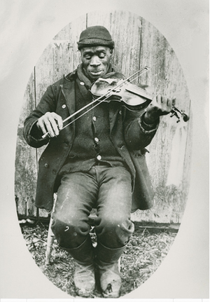 Guysborough, Nova Scotia (community) - Joe Izard, descendent of former slave Andrew Izard, Guysborough, c. 1900