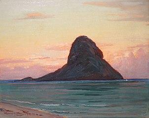 Mokoli'i Island at Twilight