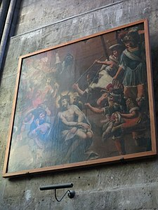 Photo du tableau « Flagellation du Christ »