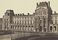 Édouard Baldus, The Pavillon Turgot, Louvre, Paris - Getty Museum.jpg