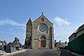 Église Saint-Laurent de Saint-Laurent-de-Cuves. Vue ouest.jpg
